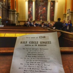 Photo taken at St Paul's Church by Brian S. on 10/3/2015