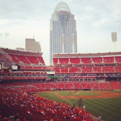 Photo taken at Great American Ball Park by Maggie C. on 8/7/2014