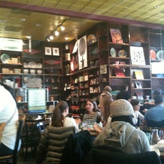 Photo taken at Busboys and Poets by Joan E. on 12/22/2012