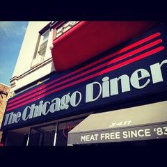 Photo taken at Chicago Diner by Gabriel M. on 9/25/2012