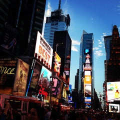 Photo taken at Times Square by Fiona D. on 7/28/2013
