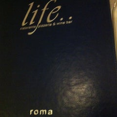 Photo taken at Ristorante Roma Life by Sechaba K. on 5/1/2013