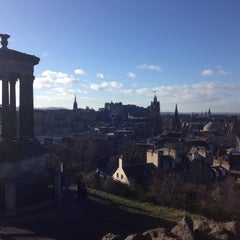 Photo taken at Burns Monument by Max A. on 2/1/2015