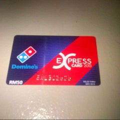 Photo taken at Domino's Pizza by shafIq A. on 1/4/2013