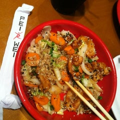 Photo taken at Pei Wei by Amy P. on 9/23/2012