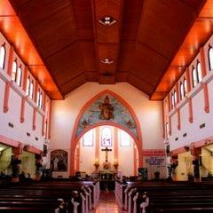 Photo taken at Gereja Katolik Kristus Raja by Felix W. on 1/19/2013