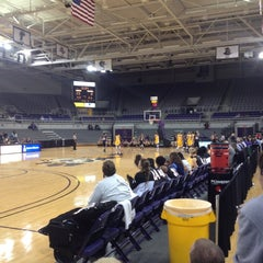 Photo taken at Minges Coliseum by Scott J. on 11/25/2012