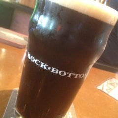 Photo taken at Rock Bottom Brewery by Charles J. on 6/14/2013