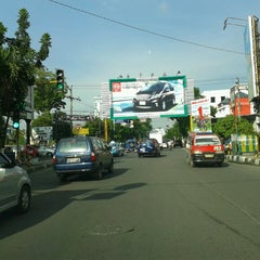 Photo taken at Jalan Gajah Mada by Iqbal H. on 5/30/2013
