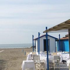 Photo taken at Forte Dei Marmi by Elisa P. on 2/9/2013