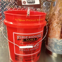 Photo taken at Firehouse Subs by Tricia P. on 3/3/2013