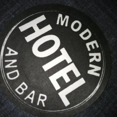 Photo taken at Modern Hotel & Bar by Susan A. on 2/12/2013