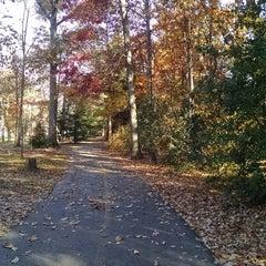Photo taken at Bluemont Park by erika marlen g. on 11/12/2014