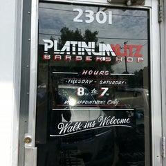 Photo taken at Platinum Kutz by J. F. on 8/15/2013