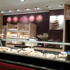 Photo taken at Junge.lv konditoreja by Kristaps V. on 11/14/2012