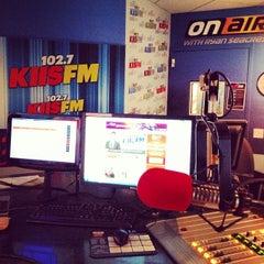Photo taken at KIIS FM by Alex G. on 1/8/2014