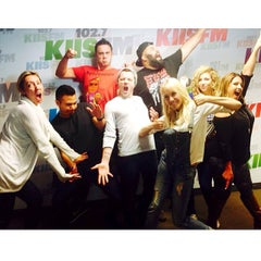 Photo taken at KIIS FM by Alex G. on 10/29/2014