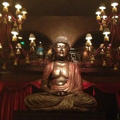 Photo taken at Buddha Bar by Nathalie T. on 1/15/2013