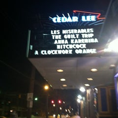 Photo taken at Cedar Lee Theatre by Aleena on 12/31/2012