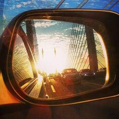 Photo taken at Penang Bridge by Satkuru on 3/4/2013