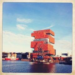 Photo taken at MAS I Museum aan de Stroom by herberella on 1/12/2013