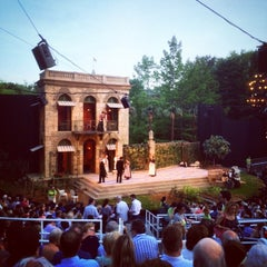 Photo taken at Delacorte Theater by Randy Y. on 7/2/2014