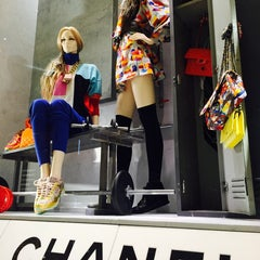 Photo taken at CHANEL Boutique by Susie J. on 10/4/2014
