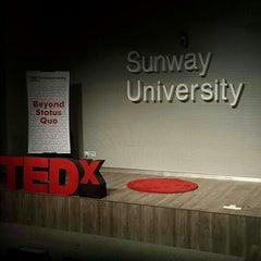 Photo taken at Sunway University by Kai S. on 10/3/2015