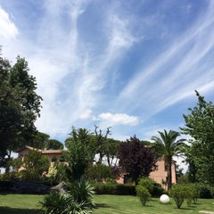 Photo taken at Relais Villa Acquaviva by Vizio on 6/18/2015