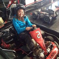 Photo taken at Fórmula Karting Granada by Nellie H. on 11/9/2013
