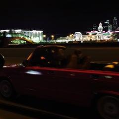 Photo taken at Район «Арбат» by Alexandra . on 7/18/2015
