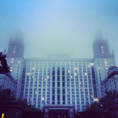 Photo taken at МГУ им. М. В. Ломоносова by Alexandra . on 5/24/2013