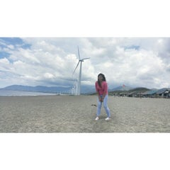 Photo taken at Bangui Windmills by Zenneth S. on 6/12/2015