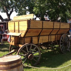 Photo taken at Stampede Park by Oxana S. on 7/9/2013