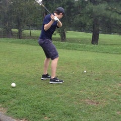 Photo taken at Newton Commonwealth Golf Course by Michael N. on 8/2/2014