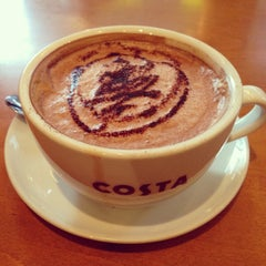 Photo taken at Costa Coffee by Vincent X. on 1/27/2014