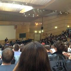 Photo taken at Ekonomski fakultet (EFZG) by Filip B. on 10/1/2012