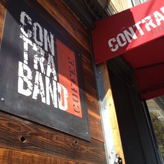Photo taken at Contraband Coffeebar by Isaiah D. on 10/10/2012