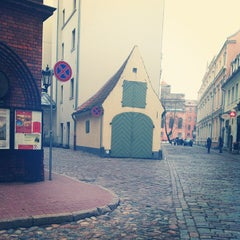 Photo taken at Pils laukums | Castle square by Margarita A. on 4/27/2013