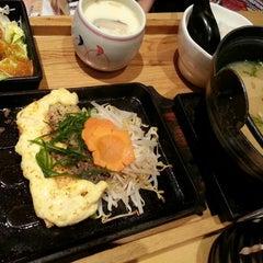 Photo taken at Tokyo Shokudo (吉野食堂) by Ivan C. on 3/19/2013