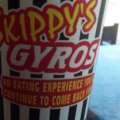 Photo taken at Skippy's Gyros by Robert T. on 9/3/2013