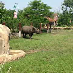 Photo taken at Great Plains Zoo by Erik R. on 7/8/2013