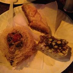 Photo taken at Mamoun's Falafel Restaurant by Asiya Z. on 4/4/2013