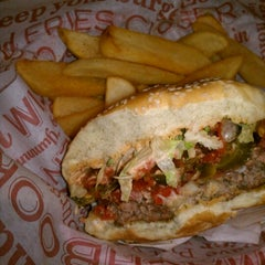 Photo taken at Red Robin Gourmet Burgers by Ashley F. on 9/21/2012