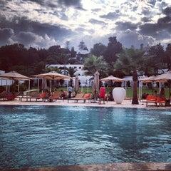 Photo taken at Mövenpick Hotel Gammarth Tunis by Алена М. on 8/20/2013