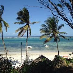 Photo taken at Mombasa Beach Hotel by Samet B. on 7/4/2014