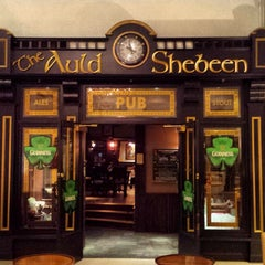 Photo taken at The Auld Shebeen Pub by Doug M. on 3/18/2014