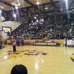 Photo taken at Archbishop Riordan High School by Jeff Y. on 1/17/2014
