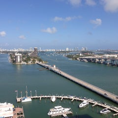 Photo taken at Miami Marriott Biscayne Bay by Christine H. on 4/12/2013