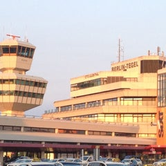Photo taken at Berlin-Tegel Airport Otto Lilienthal (TXL) by Maximilian M. on 7/9/2013